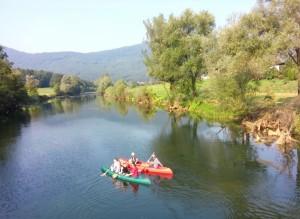 Kamp-Polje-reka-Krka